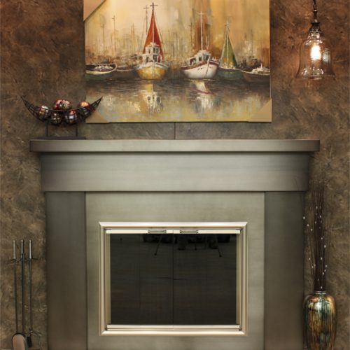 Stoll Steel Mantel