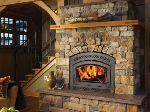 FireplaceX, 36 Elite Wood Fireplace