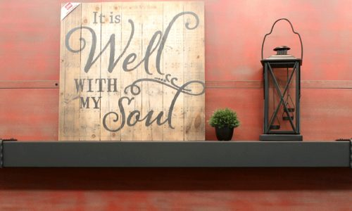 Stoll Steel Black Smith Mantel